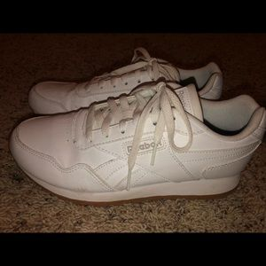 Reebok leather tennis shoes
